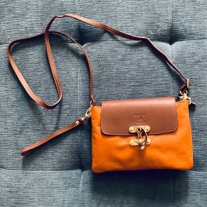 Zagara Italian Leather Crossbody Bag